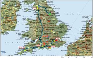 England Itinerary